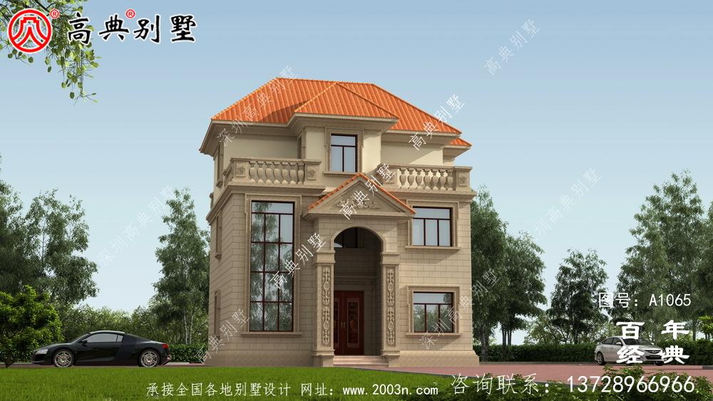 最新设计的106平方米三层住宅简单、优雅、时尚。