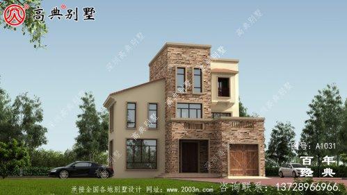 欧式三层别墅设计工程