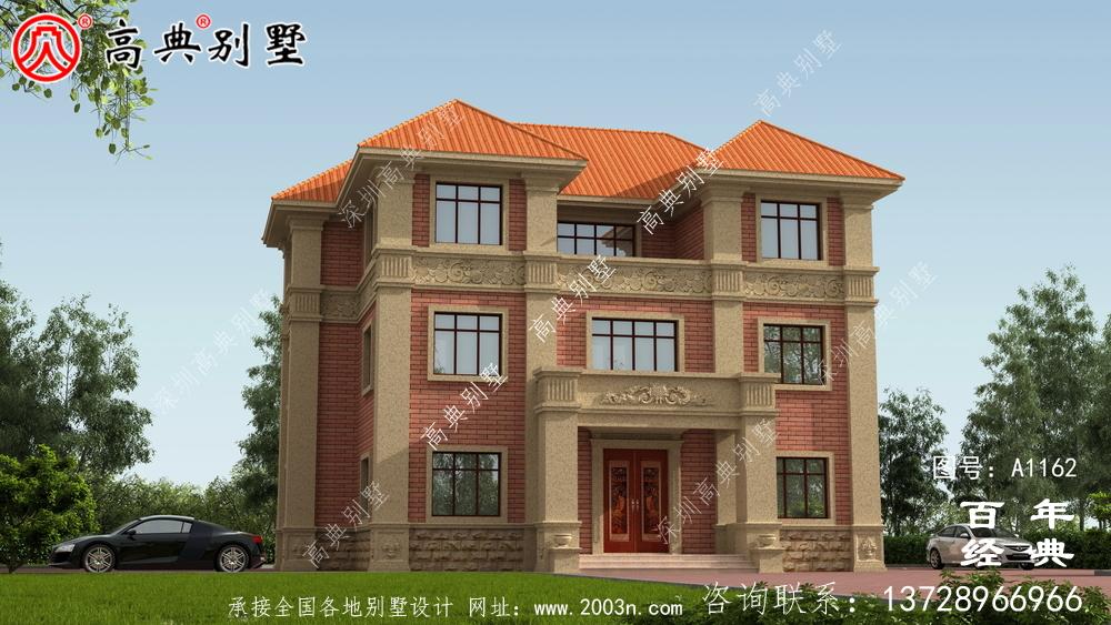 三楼别墅的布局图(全面施工图+效果图)、别墅方案入选