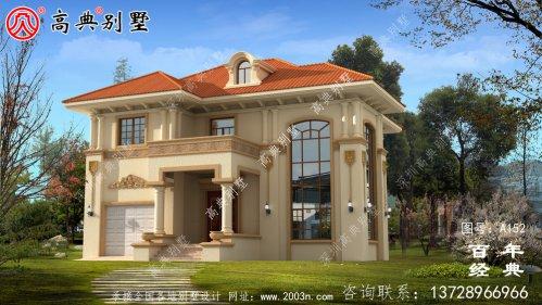 新农村建设两层带阳台