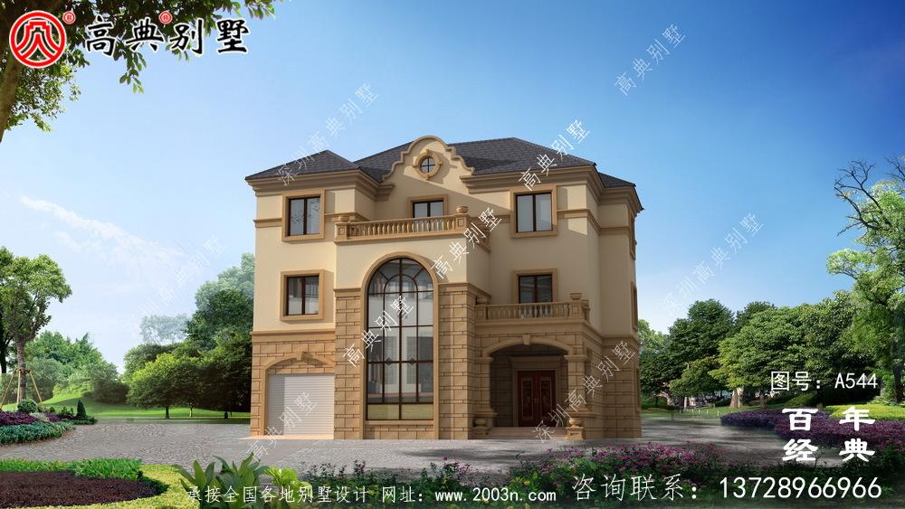 三层新农村住宅设计_别墅设计图纸,新农村别墅,农村自建房设计