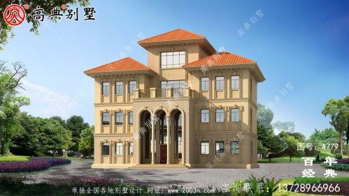 欧式四层复式别墅设计