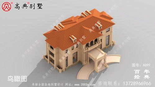 豪华三层欧式别墅设计