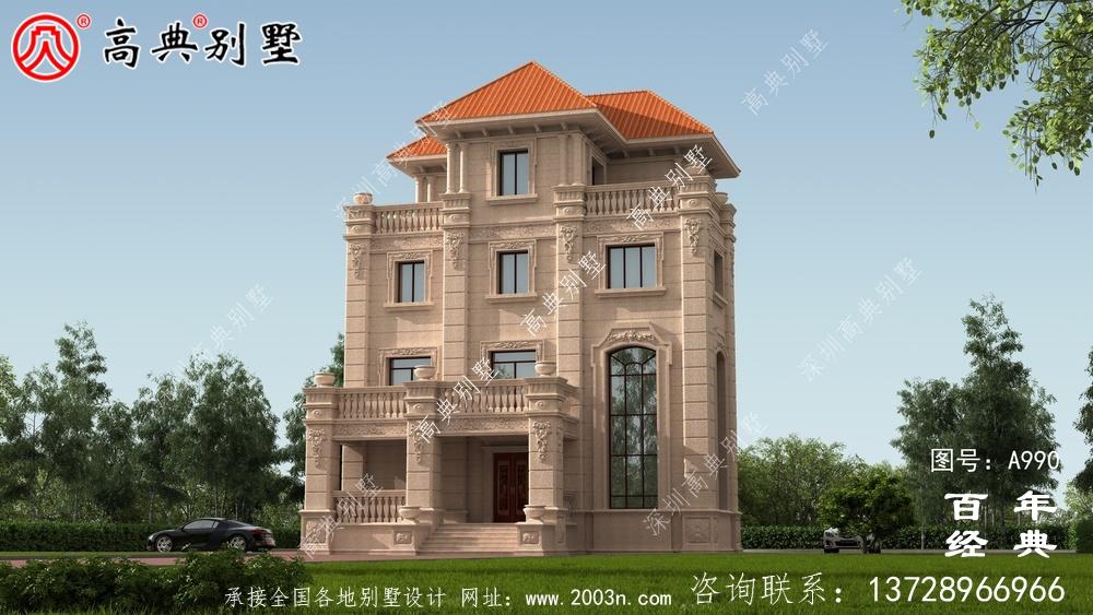 欧式四层复式豪华别墅设计整套工程图纸_四层别墅设计图纸