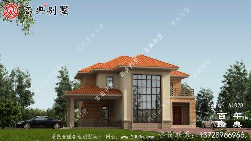 复式两层欧式别墅设计