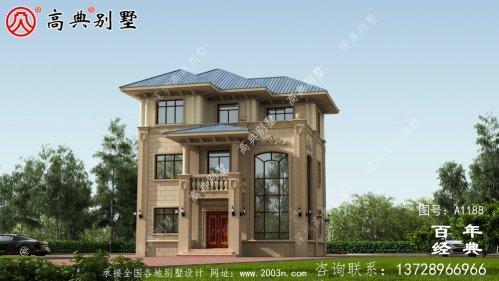 复式简约三层欧式别墅