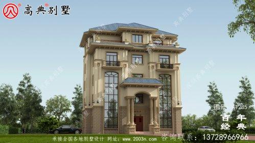 复式精致五层欧式别墅