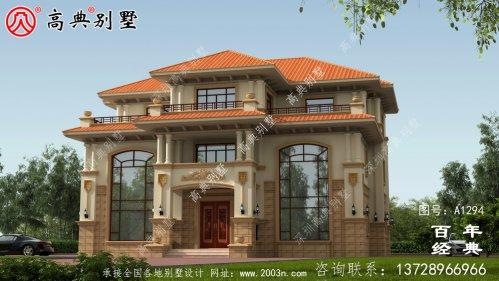高档三层复式别墅设计