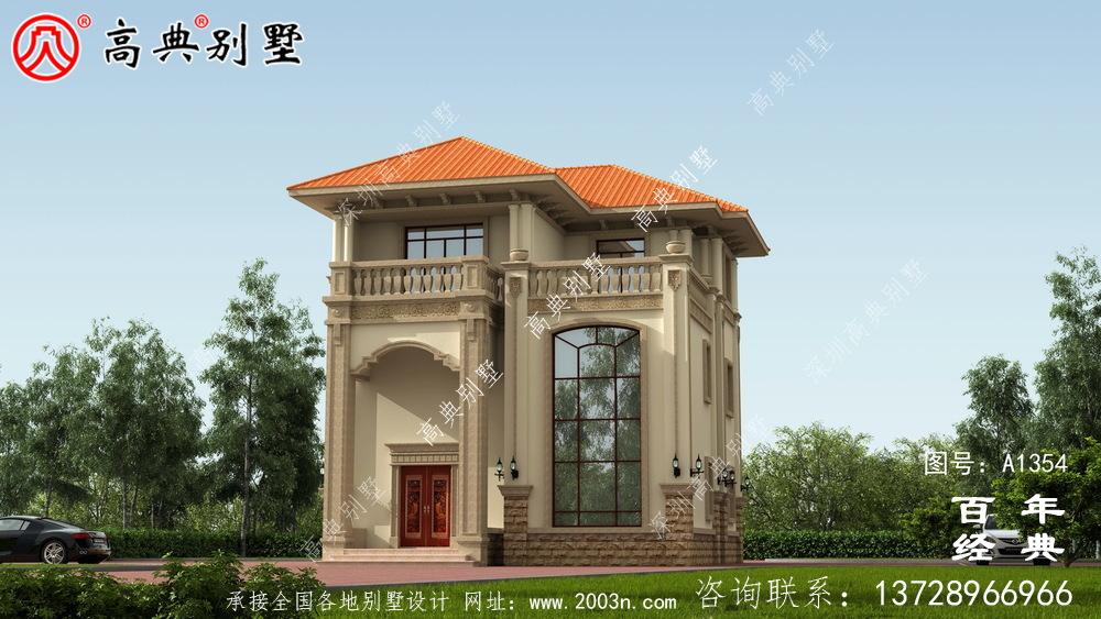 三楼欧式豪华复式别墅设计图纸集_别墅设计图纸