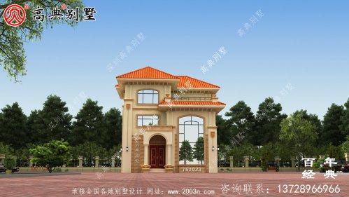 复式三层欧式别墅设计