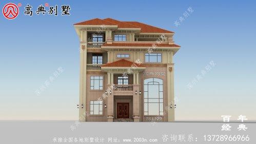 农村四层复式别墅建筑
