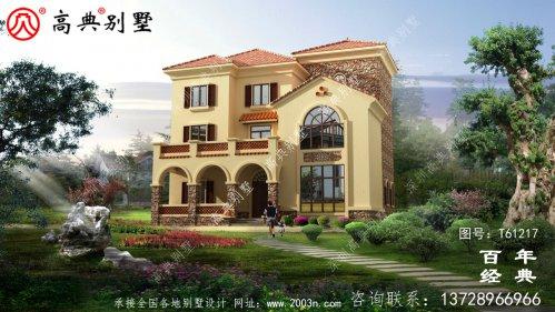 三层欧式别墅设计施工