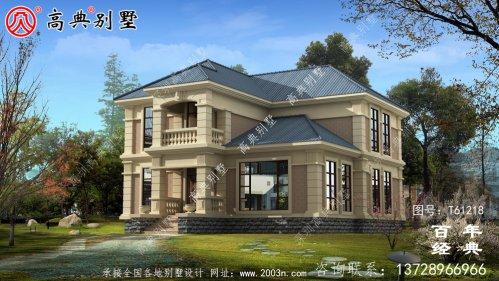 自建乡村欧式两层别墅