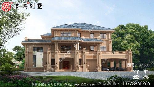 三层欧式高端别墅设计