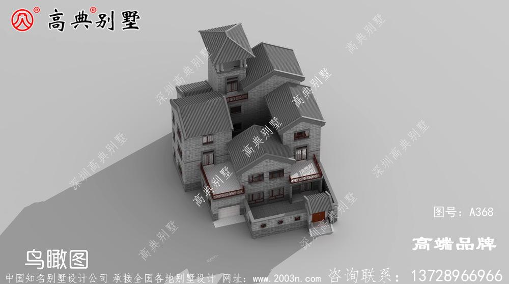 三层民房建筑设计图纸