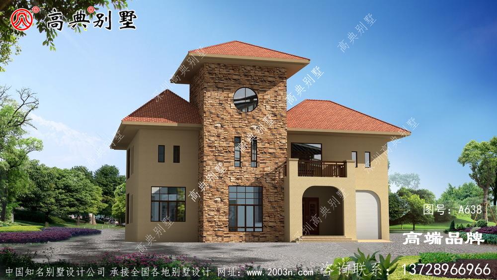 欧式风格两层别墅图纸
