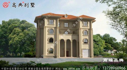 欧式风格别墅图纸设计