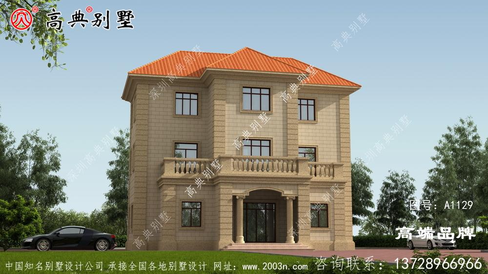 三层别墅图设计图纸