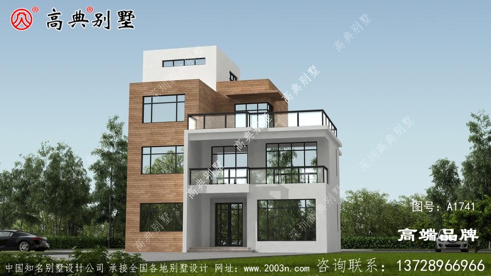现代风格三层别墅设计图纸