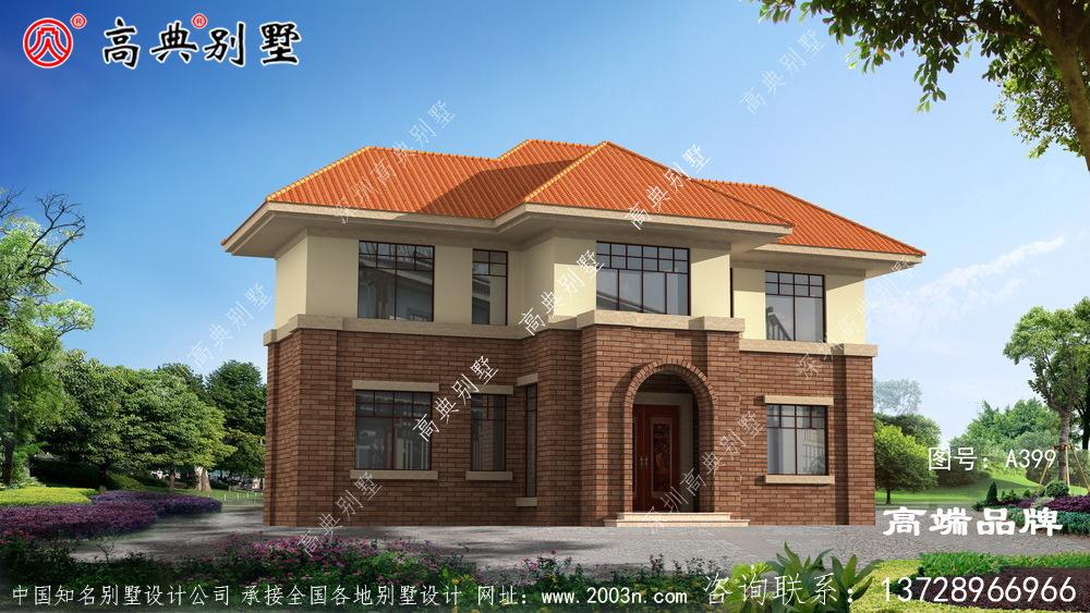 二层欧式风格别墅效果图
