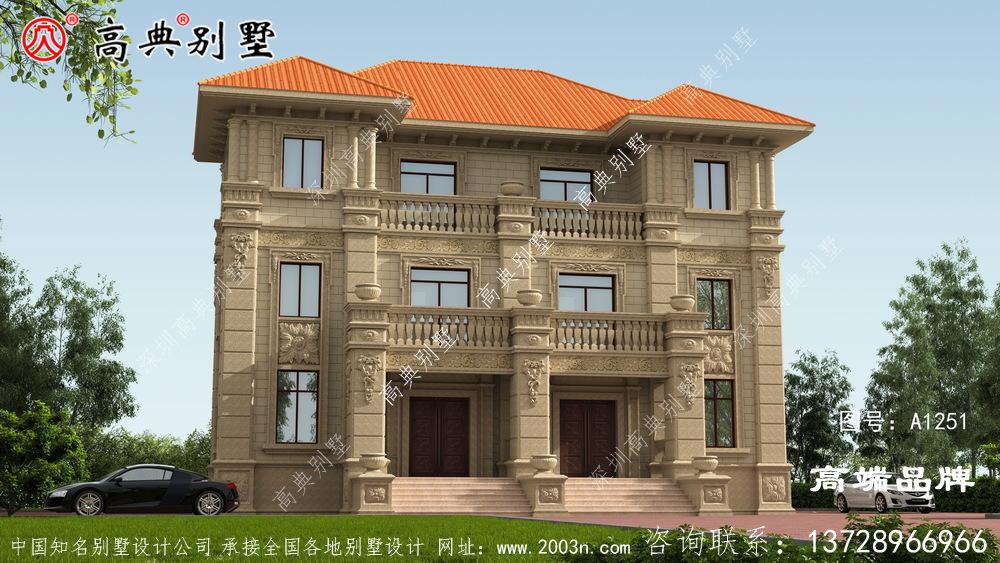 三层别墅自建房设计图