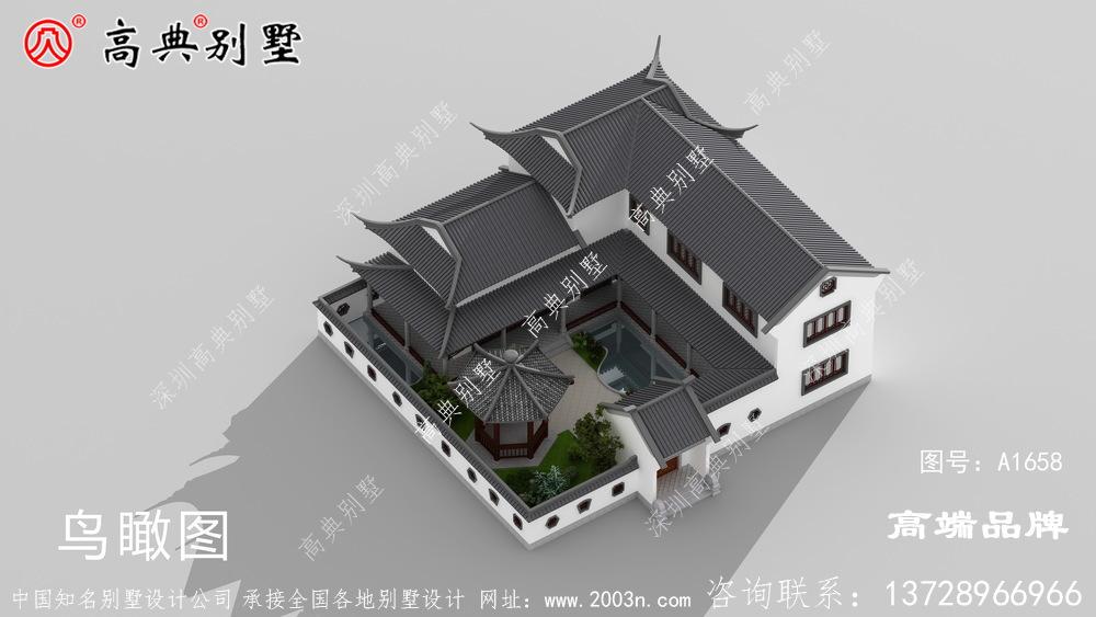 大户型中式别墅