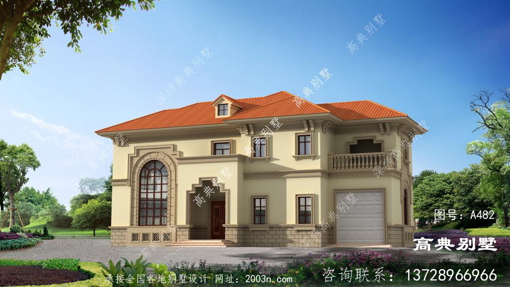 两层复式自建住宅全套别墅建筑设计图纸