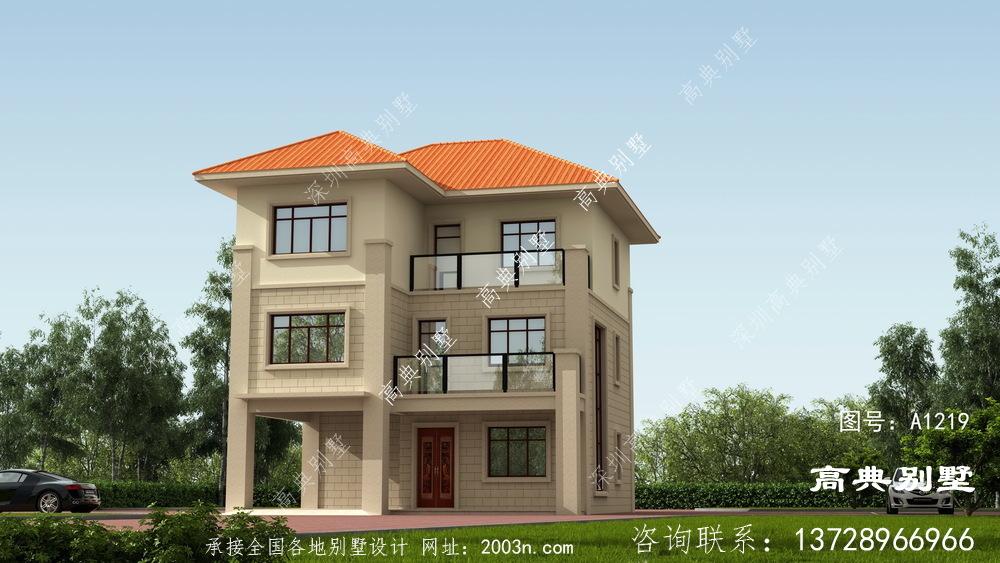 造价30万的简欧三层别墅