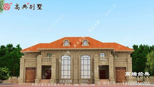 清远市两层房子平面图
