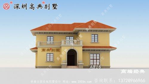 农村别墅设计图,建一