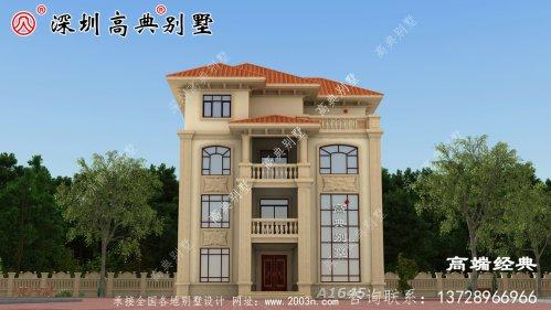 农村四层漂亮楼房设计
