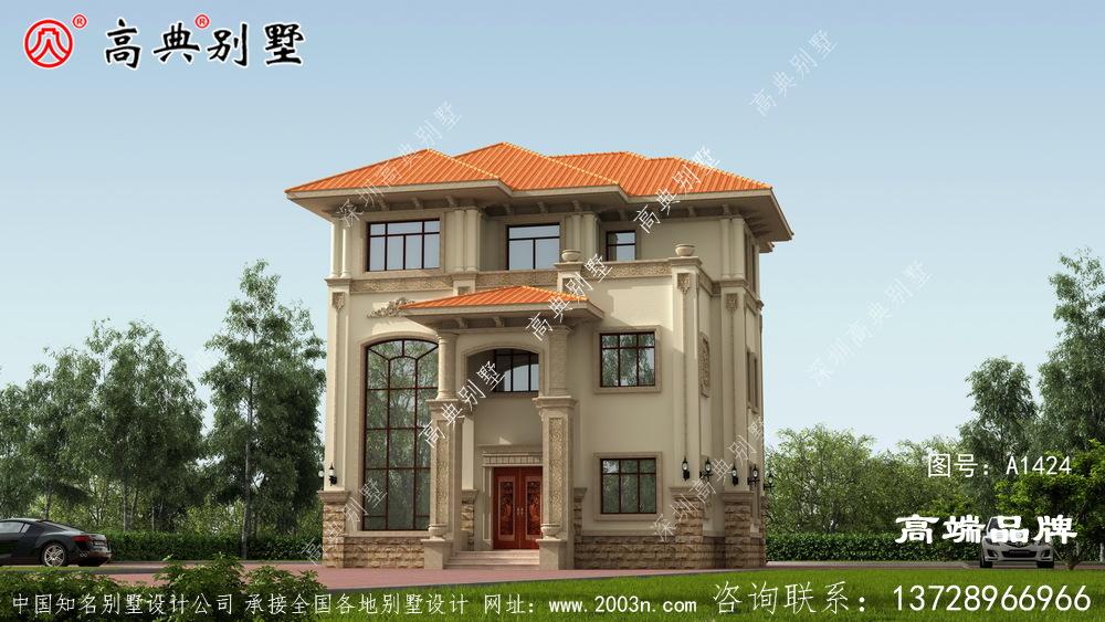 有钱人去农村买土地盖房子,规模一点也不比城市差!