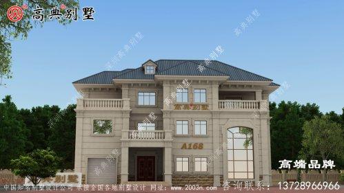 农村欧式自建别墅设计